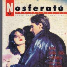 Cine: NOSFERATU. REVISTA DE CINE. NÚMERO 9 (JUNIO 1992). BUENA CONSERVACIÓN.. Lote 58361734