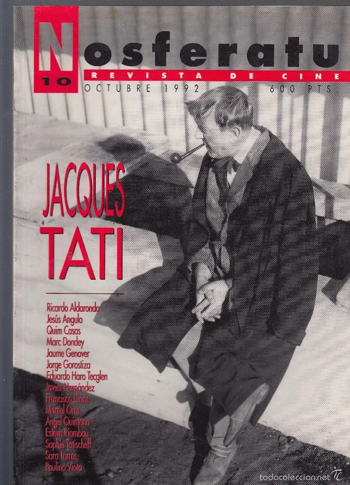 NOSFERATU. REVISTA DE CINE. NÚMERO 10 (OCTUBRE 1992). BUENA CONSERVACIÓN. (Cine - Revistas - Otros)