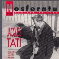 Cine: NOSFERATU. REVISTA DE CINE. NÚMERO 10 (OCTUBRE 1992). BUENA CONSERVACIÓN.. Lote 58361740