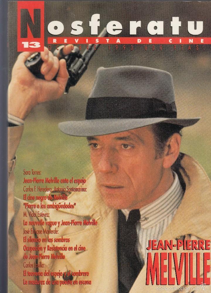 NOSFERATU. REVISTA DE CINE. NÚMERO 13 (OCTUBRE 1993). BUENA CONSERVACIÓN. (Cine - Revistas - Otros)
