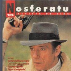 Cine: NOSFERATU. REVISTA DE CINE. NÚMERO 13 (OCTUBRE 1993). BUENA CONSERVACIÓN. . Lote 58361793