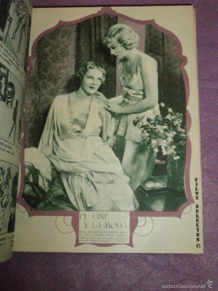 Cine: FILMS SELECTOS - Tomo encuadernado - DVERSOS NÚMEROS AÑOS 1942 Y 1943 - - Foto 3 - 58416431