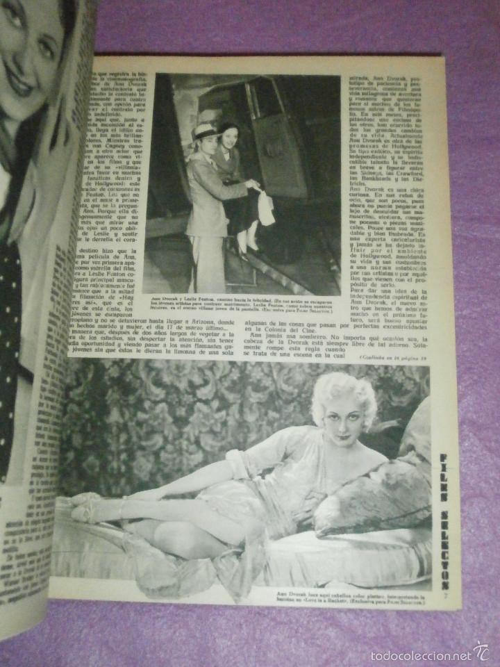 Cine: FILMS SELECTOS - Tomo encuadernado - DVERSOS NÚMEROS AÑOS 1942 Y 1943 - - Foto 4 - 58416431