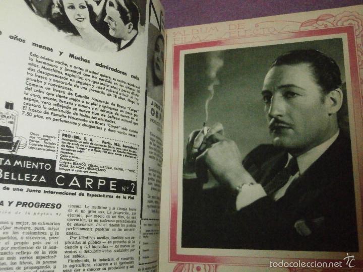 Cine: FILMS SELECTOS - Tomo encuadernado - DVERSOS NÚMEROS AÑOS 1942 Y 1943 - - Foto 6 - 58416431