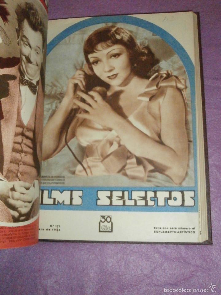 Cine: FILMS SELECTOS - Tomo encuadernado - DVERSOS NÚMEROS AÑOS 1942 Y 1943 - - Foto 8 - 58416431