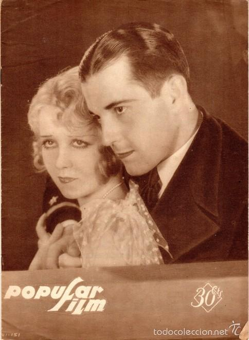 POPULAR FILM NÚMERO 151. JUNIO 1929 (Cine - Revistas - Popular film)