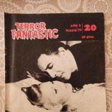 Cine: TERROR FANTASTIC Nº20, ESPECIAL: EROTISMO EN EL TERROR. Lote 58561345