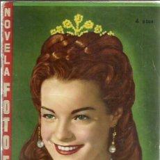 Cine: SISSI EMPERATRIZ ( FHER ) 1958 LOTE NOVELA FOTO FILM. . Lote 89109918