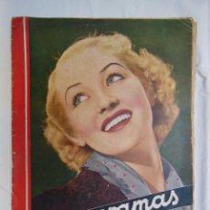 Cine: CINEGRAMAS. REVISTA SEMANAL. AÑO II, NÚM 56, 6 OCTUBRE 1935. Lote 58600369