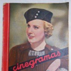 Cine: CINEGRAMAS. REVISTA SEMANAL. AÑO II, NÚM 38, 2 JUNIO 1935. Lote 58603592