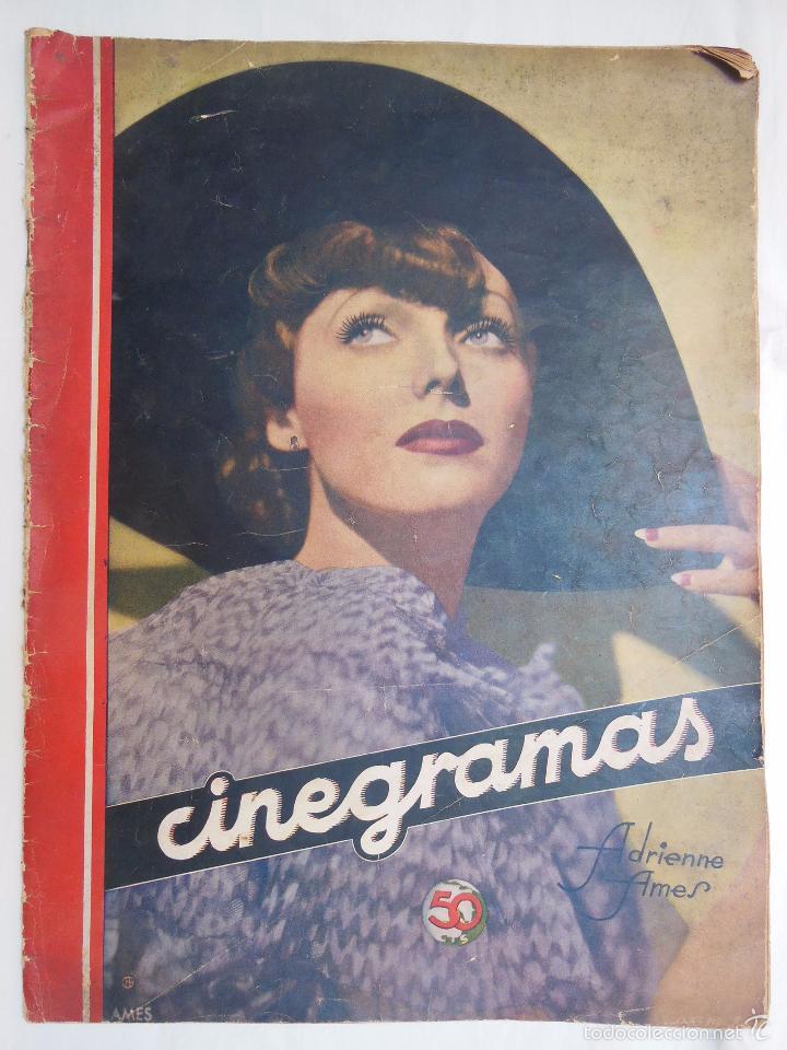 CINEGRAMAS. REVISTA SEMANAL. AÑO II, NÚM 42, 30 JUNIO 1935 (Cine - Revistas - Cinegramas)