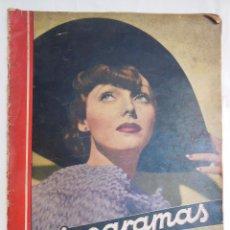 Cine: CINEGRAMAS. REVISTA SEMANAL. AÑO II, NÚM 42, 30 JUNIO 1935. Lote 58603748