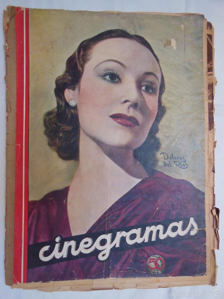 CINEGRAMAS. REVISTA SEMANAL. AÑO II, NÚM 23, 17 FEBRERO 1935 (Cine - Revistas - Cinegramas)