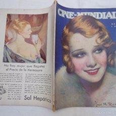 Cine: CINE MUNDIAL. REVISTA MENSUAL ILUSTRADA. MARZO 1931. Lote 58655601