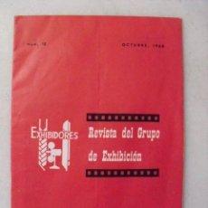Cine: REVISTA DEL GRUPO DE EXHIBICION. SINDICATO DEL ESPECTÁCULO. NUM.10. OCTUBRE, 1968.. Lote 58674887