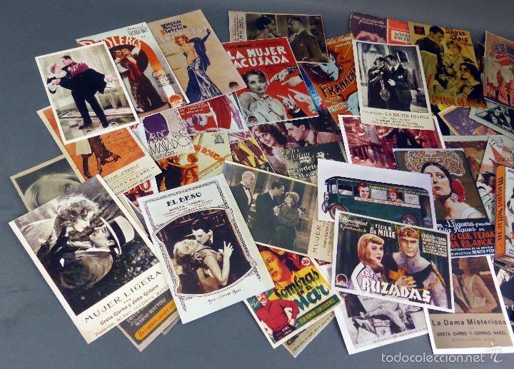 Cine: 66 reproducciones programas cine años 30 - 40 - 50 hechas en años 90 - Foto 2 - 58739441