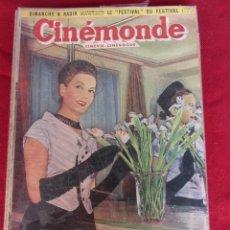 Cine: REVISTA DE CINE FRANCESA CINEMONDE Nº 872 4/1951. Lote 59446075