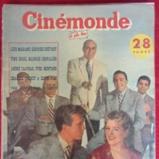 Cine: REVISTA DE CINE FRANCESA CINEMONDE Nº 905 12/1951. Lote 59446615