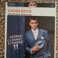 Cine: REVISTA CINERAMA #90 DICIEMBRE 2001. CLOONEY. Lote 59707299