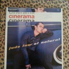 Cine: REVISTA CINERAMA #87 SEPTIEMBRE 2001 JUDE LAW. Lote 59707496