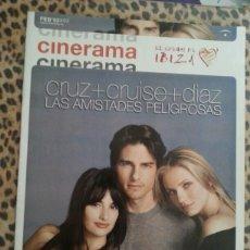 Cine: REVISTA CINERAMA #92 FEBRERO 2002 PENELOPE CRUZ CRUISE DIAZ. Lote 59707907
