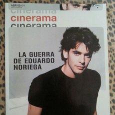 Cine: REVISTA CINERAMA #94 ABRIL 2002 EDUARDO NORIEGA. Lote 59708057