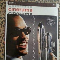 Cine: REVISTA CINERAMA #98 SEPTIEMBRE 2002 WILL SMITH. Lote 59708316