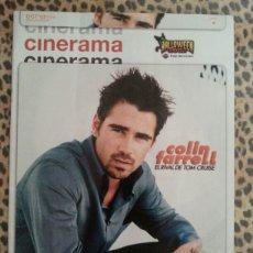 Cine: REVISTA CINERAMA #99 OCTUBRE 2002 COLIN FARRELL. Lote 59708539