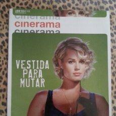 Cine: REVISTA CINERAMA #104 ABRIL 2003 REBECA ROMJIN STAMOS. Lote 59709349