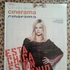 Cine: REVISTA CINERAMA #114 FEBRERO 2004 CHARLIZE THERON. Lote 59709712