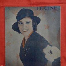 Cinema: EL CINE, IMPERIO ARGENTINA, 12 NOVIEMBRE 1931. Lote 59921095