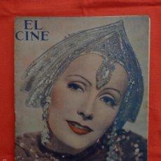 Cine: EL CINE, GRETA GARBO MATA HARY, NÚM. ESPECIAL, ABRIL. 1932. Lote 59921883