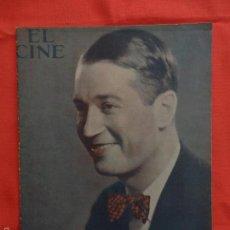Cine: EL CINE, MAURICE CHEVALIER, 24 SEPTIEMBRE 1931. Lote 59922719