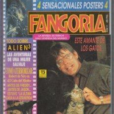 Cinema: FANGORIA N º 11 ALIEN 3 CINE FANTASIA Y TERROR - NO CONTIENE LOS POSTER. Lote 60071899