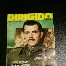 Cine: REVISTA DE CINE DIRIGIDO POR... Nº 46 - CINE FANTASTICO, RESNAIS, TRUFFAUT, FULLER.... Lote 60092947