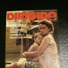 Cine: REVISTA DE CINE DIRIGIDO POR... Nº 65 - DELVAUX, MOVIMIENTO OBRERO, CANNES 79, BIGAS CANICHE LUNA. Lote 60093215