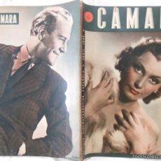 Cine: CÁMARA. REVISTA CINEMATOGRÁFICA ESPAÑOLA. Nº 7 . ABRIL 1942. Lote 60119355