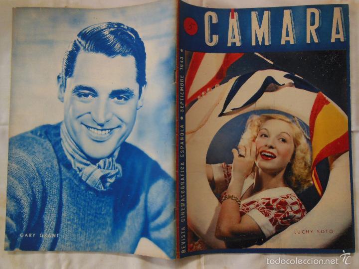 CÁMARA. REVISTA CINEMATOGRÁFICA ESPAÑOLA. Nº 24 . SEPTIEMBRE 1943 (Cine - Revistas - Cámara)