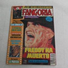 Cinema: FANGORIA Nº 4. CINE DE TERROR. PÓSTER DE FREDDY HA MUERTO. HISTORIA DE TERROR AÑOS 70. LA PROFECIA. Lote 60284503