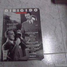 Cinema: DIRIGIDO POR... Nº 222: JAMES IVORY. BERLIN 94. LA LISTA DE SCHINDLER. PHILADELPHIA. BLANCO. SHORT C. Lote 223084645