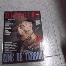 Cine: EXTRA DIRIGIDO POR... Nº 291: ESPECIAL CINE DE TERROR. GLADIATOR. CANNES 2000. EL EMPERADOR Y EL ASE. Lote 214454006