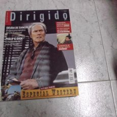 Cine: DIRIGIDO POR... Nº 316: ESPECIAL WESTERN. DEUDA DE SANGRE. EL CASO BOURNE. INSOMNIO. PHILIP K. DICK. Lote 205353807