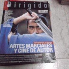 Cinema: DIRIGIDO POR... Nº 343: DOSSIER ESPECIAL ARTES MARCIALES Y CINE DE AUTOR. AMERICAN SPLENDOR. ENTRE C. Lote 166875762