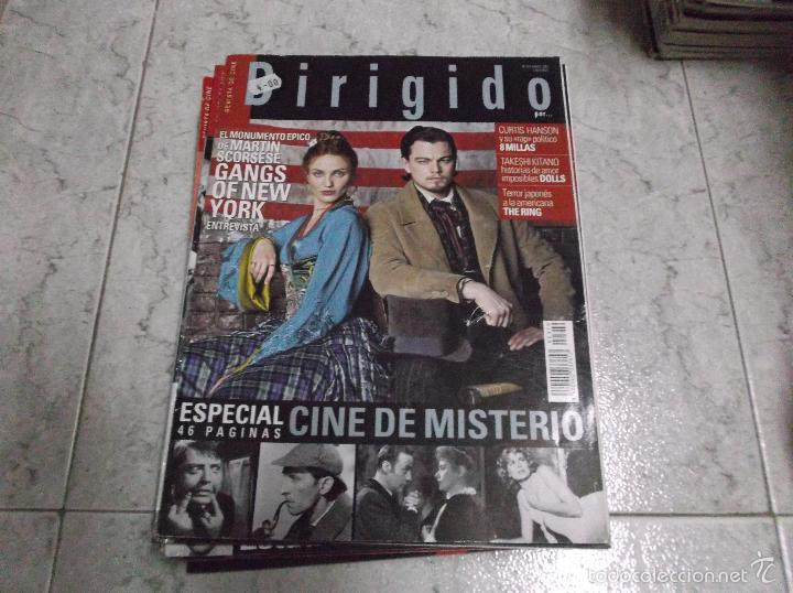 DIRIGIDO POR... Nº 319: ESPECIAL CINE DE MISTERIO (46 PAG.). GANGS OF NEW YORK. 8 MILLAS. DOLLS. (Cine - Revistas - Dirigido por)
