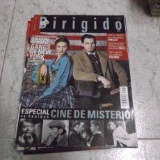 Cine: DIRIGIDO POR... Nº 319: ESPECIAL CINE DE MISTERIO (46 PAG.). GANGS OF NEW YORK. 8 MILLAS. DOLLS.. Lote 267887084