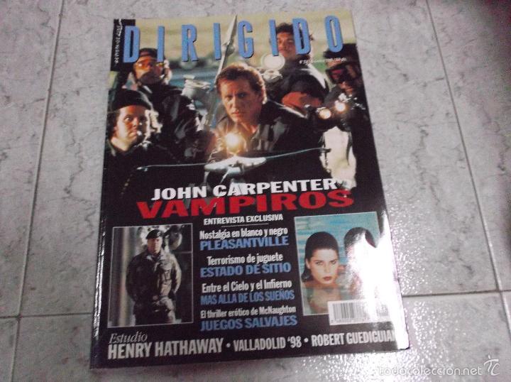 DIRIGIDO POR... Nº 274: ESTUDIO HENRY HATHAWAY. VAMPIROS. JUEGOS SALVAJES. ESTADO DE SITIO. PLEASANT (Cine - Revistas - Dirigido por)