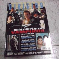 Cinema: DIRIGIDO POR... Nº 274: ESTUDIO HENRY HATHAWAY. VAMPIROS. JUEGOS SALVAJES. ESTADO DE SITIO. PLEASANT. Lote 221870675