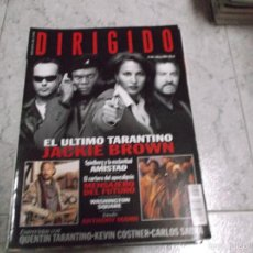Cinema: DIRIGIDO POR... Nº 265: TARANTINO. JACKIE BROWN. MENSAJERO DEL FUTURO. ESTUDIO ANTHONY MANN. COSTNER. Lote 219275447
