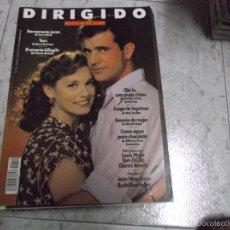 Cinema: DIRIGIDO POR... Nº 212: JEAN NEGULESCO. BUDD BOETTICHER. COMO AGUA PARA CHOCOLATE. ESENCIA DE MUJER.. Lote 219272313