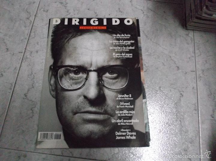 DIRIGIDO POR... Nº 213: DOSSIER DELMER DAVES Y JAMES WHALE. UN DIA DE FURIA. LA ARDILLA ROJA. VIVEN. (Cine - Revistas - Dirigido por)